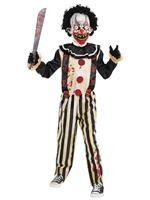 Child Slasher Clown Costume [9902442]