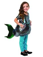 Child Step-in Mermaid Costume