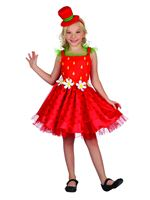 Child Strawberry Kiss Costume