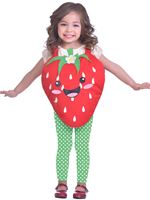 Child Strawberry Sweetie Costume
