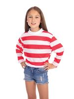 Child Striped Unisex Top