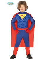 Child Superhero Muscles Costume