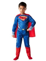 Child Superman Man of Steel Classic Costume