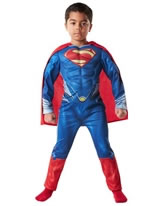 Child Superman Man of Steel Deluxe Costume