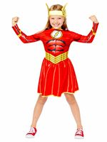 Child The Flash Girl Sustainable Costume [9910122]