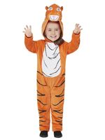 Child The Tiger Who Came For Tea Deluxe Costume [52483]