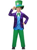 Child Top Mad Hatter Costume