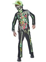 Child Toxic Zombie Costume