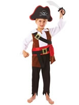 Child Treasure Pirate Costume [994976]