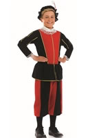 Child Royal Tudor Boy Costume