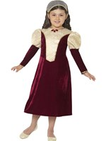 Child Tudor Damsel Princess Costume