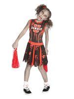 Child Undead Cheerleader Costume