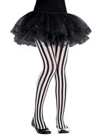 Child Vertical Striped Tights