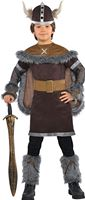 Child Viking Warrior Costume