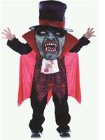 Child Vampire Mad Hatter Costume