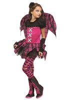 Child Pink Punk Fairy Costume [111272]