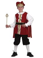Child Medieval King Henry Costume