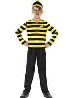 Child Where's Wally Odlaw Costume [42976]