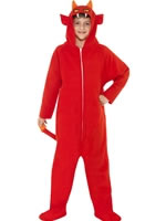 Child Devil Onesie Costume