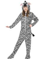 Child Zebra Onesie Costume