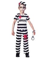 Child Zombie Convict Costume [9902657]