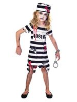 Child Zombie Convict Costume [9902661]