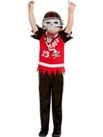 Child Zombie Football Player Costume