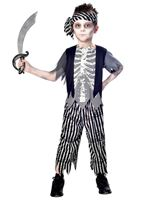 Child Zombie Pirate Costume