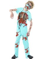 Child Zombie Surgeon Costume