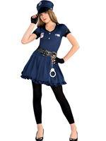 Teen Cop Cutie Costume