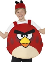 Childrens Angry Birds Red Costume