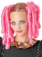 Childrens Anime Curls Wig with Hairscara [70699]