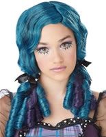 Teen Blue Doll Curls Wig [70719]