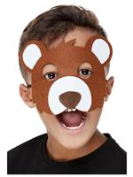 Childrens Felt Bear Mask