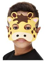 Childrens Felt Giraffe Mask