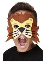 Childrens Felt Lion Mask