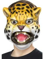 Childrens Leopard Mask