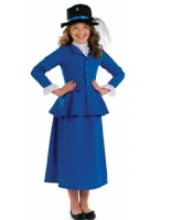 Child Mary Victorian Nanny Costume