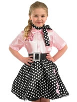 Child 50s Rock n Roll Costume