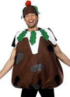 Inflatable Christmas Roast Turkey Costume 32769 Fancy