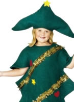 Child Christmas Tree Childrens Costume