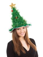 Adult Christmas Tree Hat [BH639]