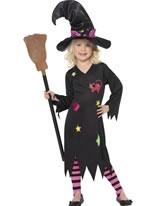 Child Cinder Witch Costume
