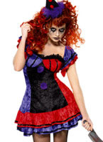 Adult Cirque Sinister Bo Bo the Clown Costume [32246]