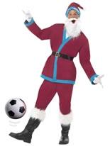 Adult Claret Sport Santa Costume [22671]