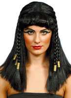 Cleopatra Wig Black Gold