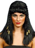 Cleopatra Wig Black Gold
