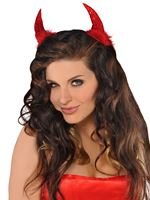 Clip on Sequin Devil Horns