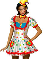 Adult Clown Female Costume [4007165]