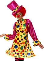 Adult Clown Lady Costume [32882]